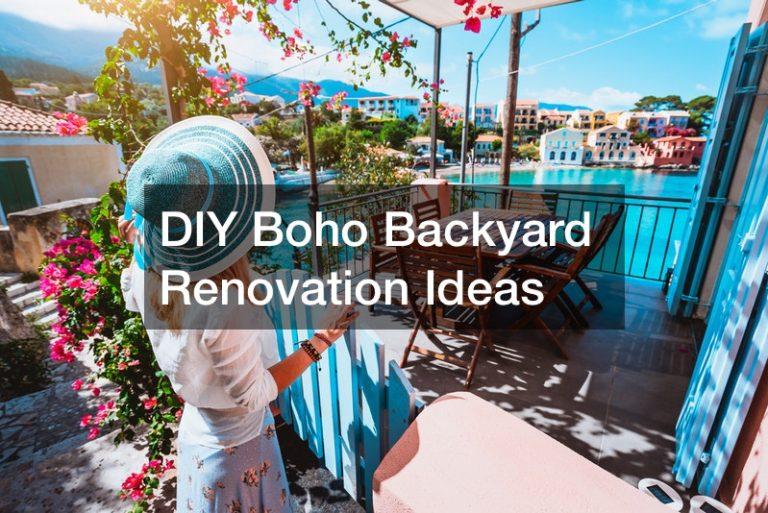 DIY backyard renovation ideas